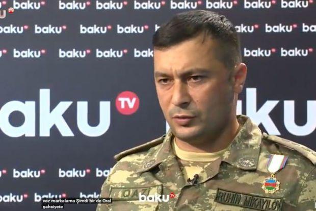 Erməni polkovnikini məhv edən komandir -  VİDEO