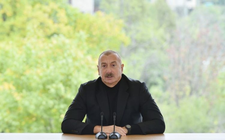 Dövlət başçısı ermənilərin Hadruta göndərdiyi diversiya qrupundan danışdı