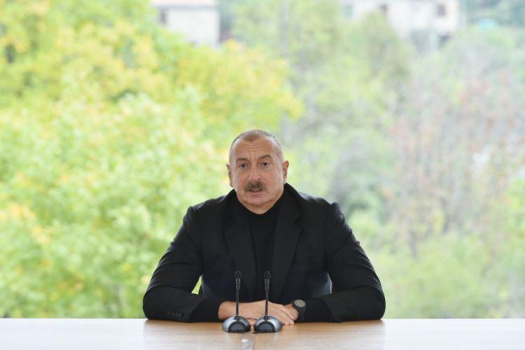 """İlham Əliyev:  """"Ermənilər hesab edirdilər ki, Azərbaycan Ordusu Hadrutu heç vaxt azad edə bilməz"""""""
