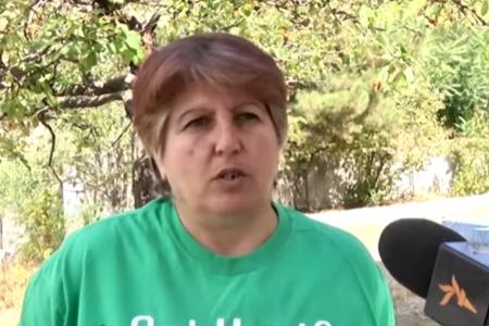"""Laçındakı ermənilər danışdı: """"Uşaqları bayıra buraxmırıq"""" - VİDEO"""