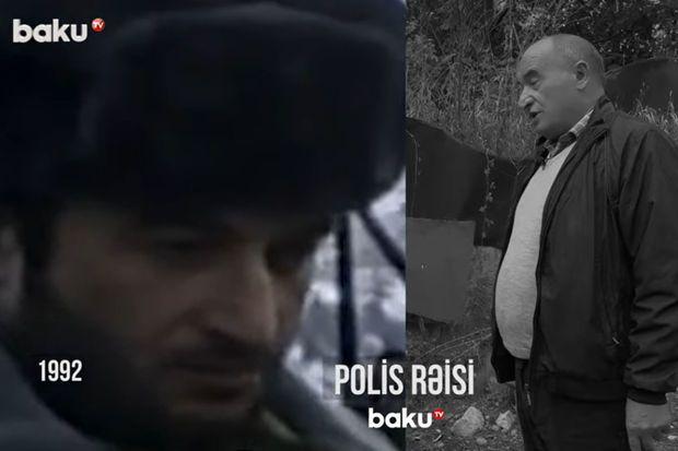 Şuşa polisi 29 il sonra Şuşada –  VİDEO