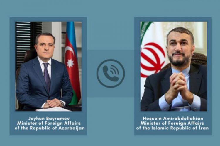 """Ceyhun Bayramovla Abdullahiyan arasında telefon danışığı: """"Anlaşılmazlığın qarşısı alınmalı..."""""""