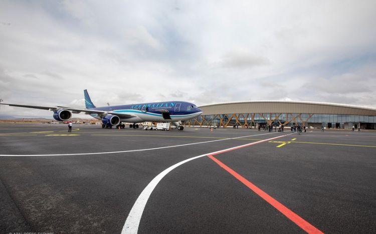 Füzuli Hava Limanı artıq beynəlxalq uçuşlar üçün açıqdır -  RƏSMİ