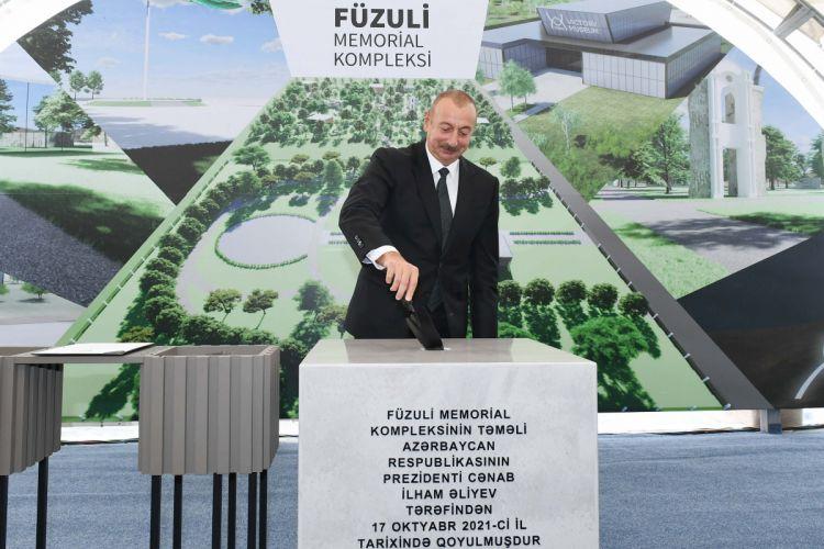 Füzulidə İşğal muzeyi, Memorial Kompleks və Zəfər parkı salınacaq, Bayraq meydanı yaradılacaq