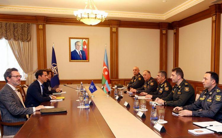 Zakir Həsənov NATO-nun Qafqaz və Mərkəzi Asiya üzrə xüsusi nümayəndəsi ilə görüşüb