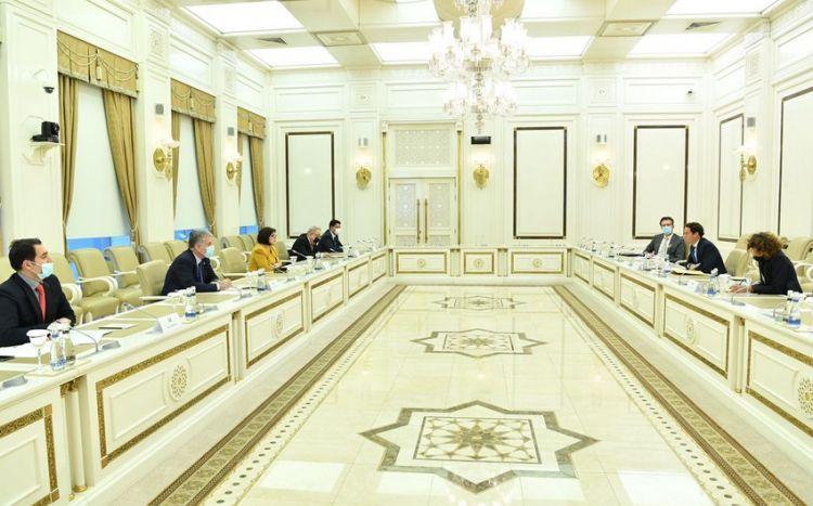 Sahibə Qafarova NATO nümayəndə heyəti ilə görüşüb -  FOTO