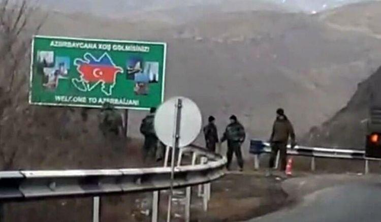 Azərbaycan polisi erməni sürücünü cərimələdi