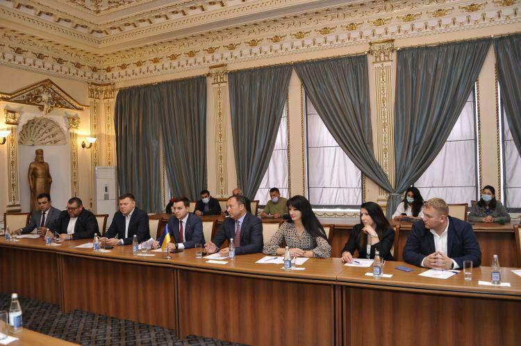 Ukrayna Ali Radasının deputatları Dövlət Komitəsində olub -  FOTO