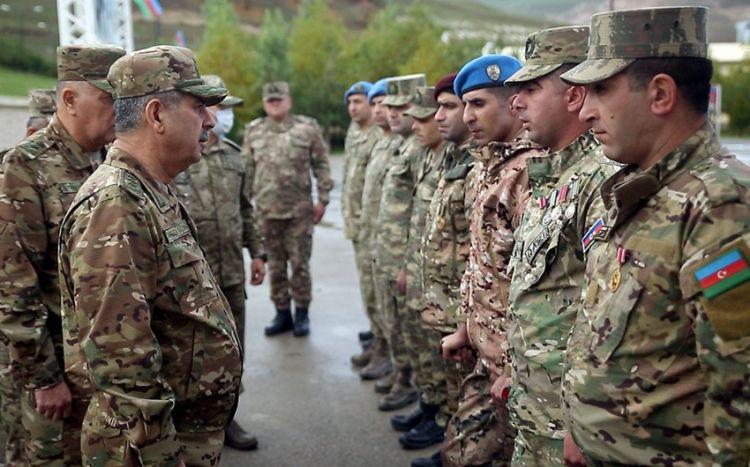 Yeni yaradılan komando hərbi hissəsi istifadəyə verilib -  FOTO/VİDEO