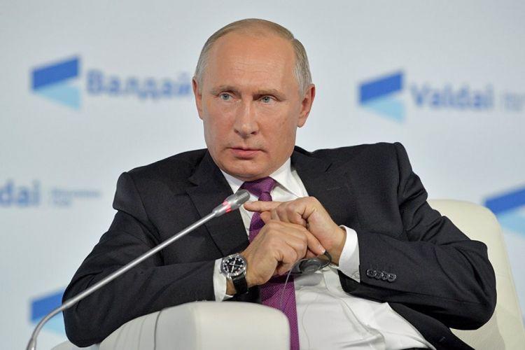 Rusiya prezidenti Zəngəzur dəhlizindən danışıb
