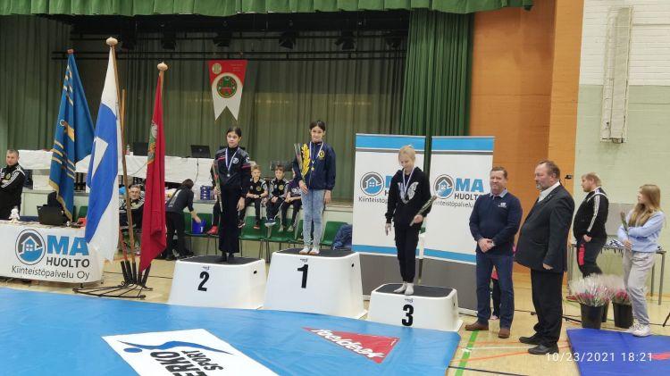 11 yaşlı azərbaycanlı qız Finlandiya çempionu olub -  FOTO