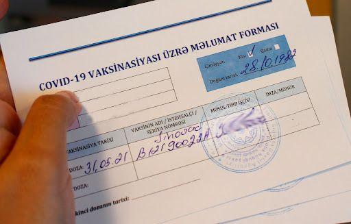 Saxta COVID-19 pasportu alanların aqibəti necə olacaq? -  VİDEO