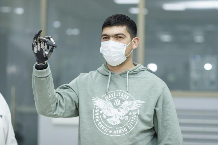Nazirlik 157 qazini yüksək texnologiyalı protezlərlə təmin edib