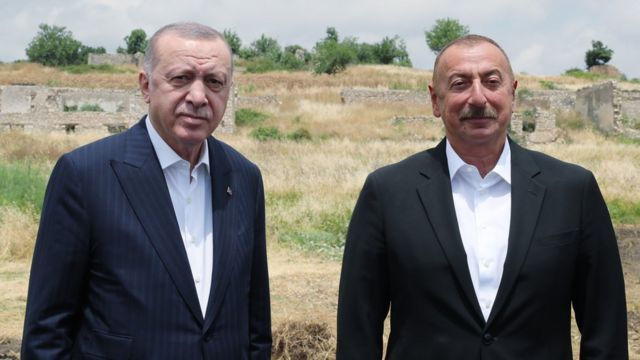 Prezident İlham Əliyev Ərdoğanı təbrik edib
